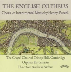 The English Orpheus - Choral & Instrumental Music by Henry Purcell Product Image
