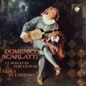 Domenico Scarlatti: 12 Sonatas for Guitar Product Image
