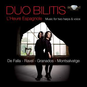 L'Heure Espagnole: Music for two harps & voice