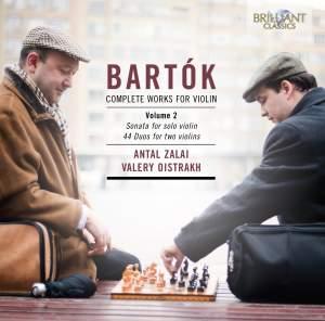 Bartók: Complete Works for Violin Volume 2 Product Image