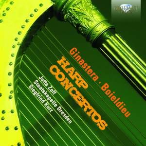 Ginastera & Boïeldieu: Harp Concertos