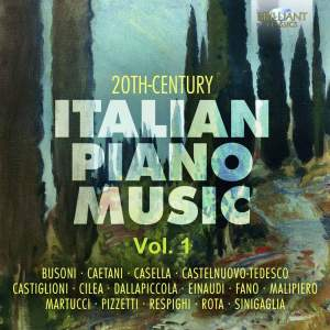 20th-Century Italian Piano Music