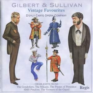 Gilbert And Sullivan: Vintage Favourites