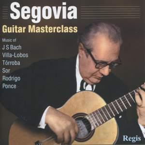 Segovia - Guitar Masterclass Product Image