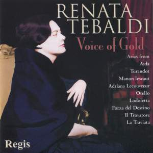 Renata Tebaldi - Voice of Gold Product Image