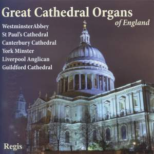 Great Cathedral Organs of England Volume 1 Product Image