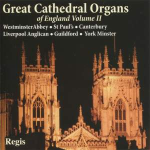 Great Cathedral Organs of England Volume 2 Product Image