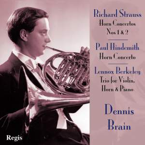 Horn Concertos by Strauss and Hindemith Product Image