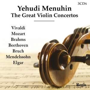Yehudi Menuhin: The Great Violin Concertos Product Image