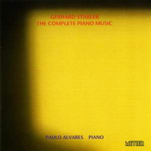 Gerhard Stäbler - The Complete Piano Music