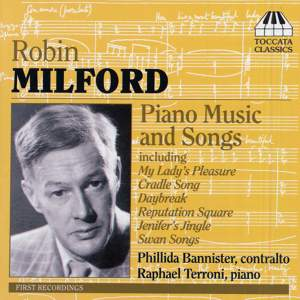 Robin Milford: Piano Music & Songs