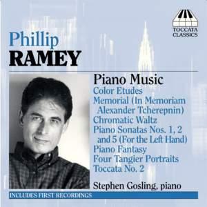 Phillip Ramey: Piano Music Volume 1