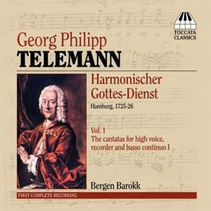 Telemann: Harmonischer Gottes-Dienst Volume I