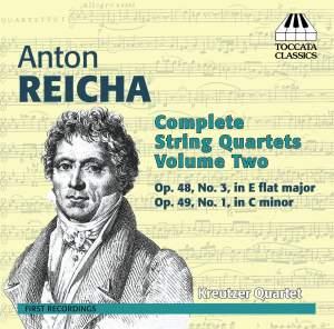 Anton Reicha: Complete String Quartets, Volume Two