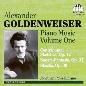 Alexander Goldenweiser: Piano Music Volume 1