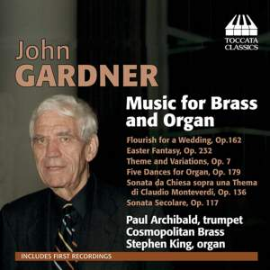 John Gardner: Music for Brass and Organ