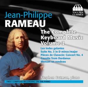 Rameau: Complete Keyboard Music Volume 2