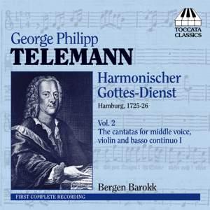 Telemann: Harmonischer Gottes-Dienst Volume II