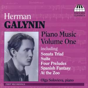 Galynin: Piano Music Volume One