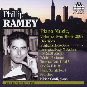 Phillip Ramey: Piano Music Volume 2