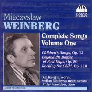 Weinberg - Complete Songs Volume One