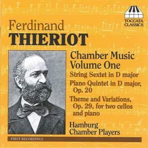 Thieriot - Chamber Music Volume 1