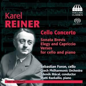 Karel Reiner: Cello Concerto & other works