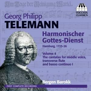 Telemann: Harmonischer Gottes-Dienst Volume IV