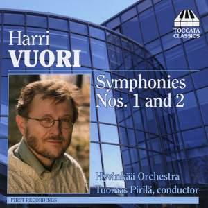 Harri Vuori: Symphonies Nos. 1 & 2