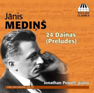 Medins, Janis: 24 Dainas for Piano (Preludes)