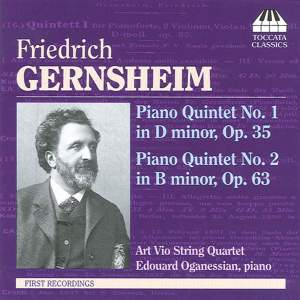 Gernsheim: The Two Piano Quintets