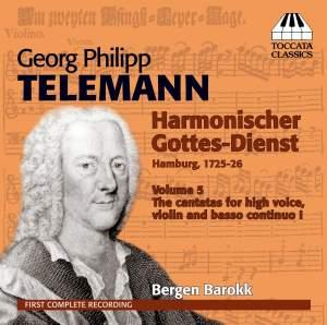 Telemann: Harmonischer Gottes-Dienst Volume V