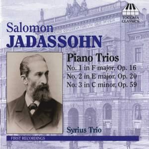 Jadassohn: Piano Trios Nos. 1-3