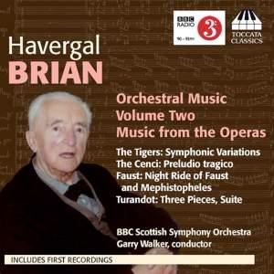 Havergal Brian: Orchestral Music Volume 2