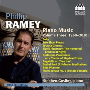 Phillip Ramey: Piano Music Volume 3