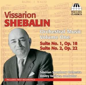 Vissarion Shebalin: Orchestral Music, Volume One