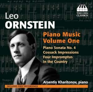 Ornstein: Piano Music Vol.1