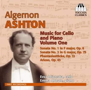 Algernon Ashton: Complete Music for Cello and Piano, Vol. 1
