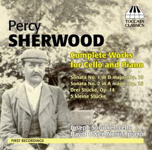 Percy Sherwood: Complete Works for Cello & Piano