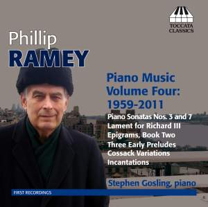 Phillip Ramey: Piano Music Volume 4