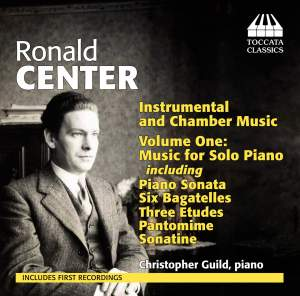 Ronald Center: Piano Music