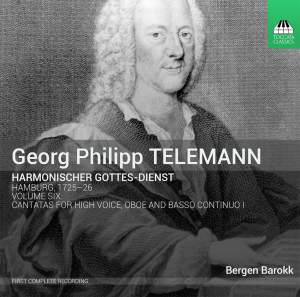 Telemann: Harmonischer Gottes-Dienst Volume VI