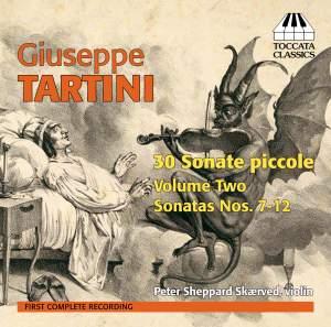 Tartini: 30 Sonate piccole for Solo Violin Volume Two