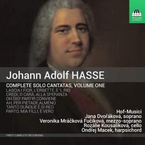 Hasse: Solo Cantatas Vol. 1