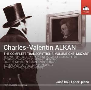 Alkan: The Complete Transcriptions, Vol. 1