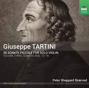 Tartini: 30 Sonate piccole for Solo Violin Volume Three