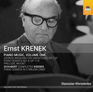 Ernst Krenek: Piano Music, Volume One