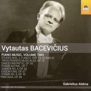 Bacevicius: Piano Music Volume 2