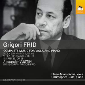 Frid: Complete Music for Viola & Piano