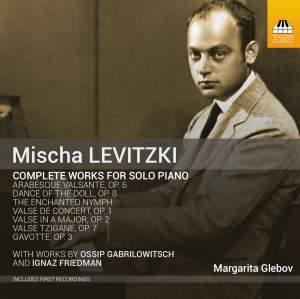 Mischa Levitzi: Complete Works for Solo Piano